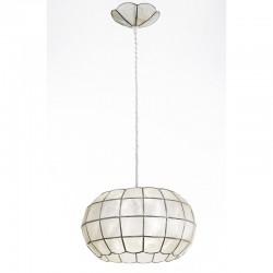 Viseča svetilka - filipinska školjka H5562 - Alpcom svetila