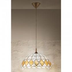 Viseča svetilka - filipinska školjka H5006 - Alpcom svetila