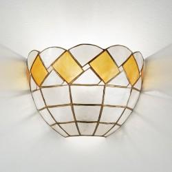 Zidna svetilka - filipinska školjka H5005 A - Alpcom svetila