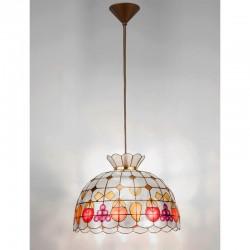 Viseča svetilka - filipinska školjka H5001 - Alpcom svetila
