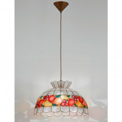 Viseča svetilka - filipinska školjka H5504 - Alpcom svetila