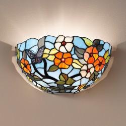 Zidna svetilka Tiffany T1002 A - Zidna svetila Alpcom