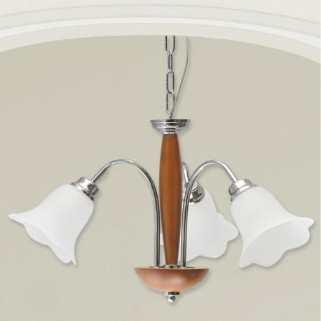 Rustikalna viseča svetilka 072 / 3 MS - Viseča svetila Alpcom
