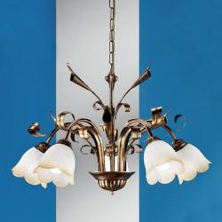 Rustikalna viseča svetilka Serena / 5 - Viseča svetila Alpcom