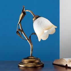 Rustikalna namizna svetilka Serena / L - Namizna svetila Alpcom