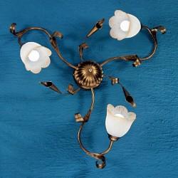 Rustikalna stropna svetilka Serena / PL3 - Stropna svetila Alpcom