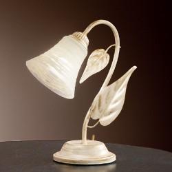Rustikalna namizna svetilka Tosca / L - Namizna svetila Alpcom