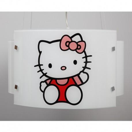 Otroška viseča svetilka 5/1 Hello Kitty - Otroška svetila Alpcom