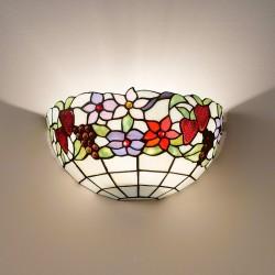 Zidna svetilka Tiffany T996 A - Zidna svetila Alpcom