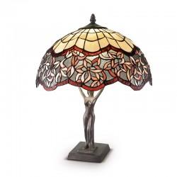Namizna svetilka Tiffany T966 U + B604 - Namizna svetila Alpcom