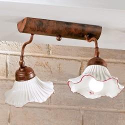 Rustikalna stropna svetilka Anna / PL2 - Stropna svetila Alpcom