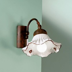 Rustikalna zidna svetilka Anna / AP1 - Zidna svetila Alpcom