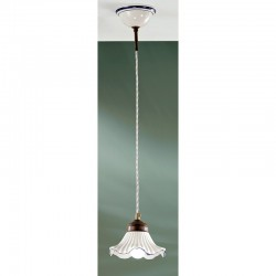 Rustikalna viseča svetilka Anna / SP - Viseča svetila Alpcom