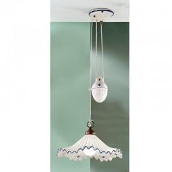 Rustikalna viseča svetilka Anna / SG C - Viseča svetila Alpcom