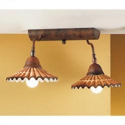 Rustikalna stropna svetilka Vania / PL2 - Stropna svetila Alpcom