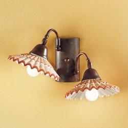 Rustikalna zidna svetilka Vania / AP2 - Zidna svetila Alpcom