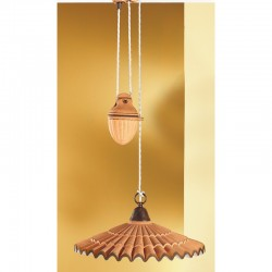 Rustikalna viseča svetilka Vania / SG C - Viseča svetila Alpcom