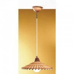 Rustikalna viseča svetilka Vania / SM - Viseča svetila Alpcom