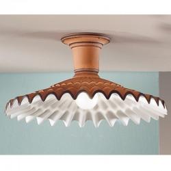 Rustikalna stropna svetilka Vania / PLG - Stropna svetila Alpcom