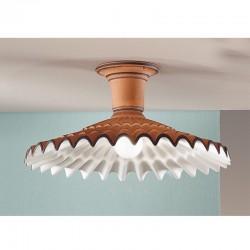 Rustikalna stropna svetilka Vania / PLM - Stropna svetila Alpcom