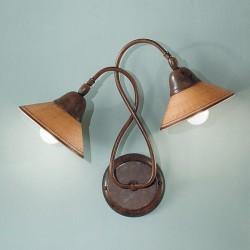 Rustikalna zidna svetilka Maria / AP2 - Zidna svetilka Alpcom