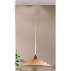 Rustikalna viseča svetilka Maria / SM - Viseča svetila Alpcom
