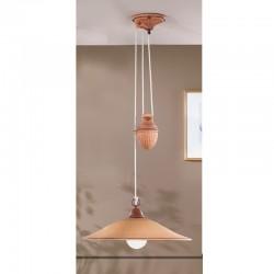 Rustikalna viseča svetilka Maria / SM C - Viseča svetila Alpcom
