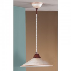 Rustikalna viseča svetilka Maria / SP - Viseča svetila Alpcom