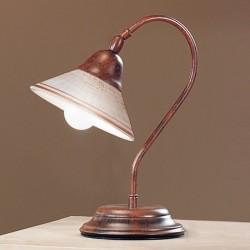 Rustikalna namizna svetilka Maria / L - Namizna svetila Alpcom