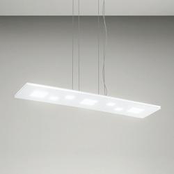 LED viseča svetilka SQUARED 6389 - Viseča svetila Alpcom