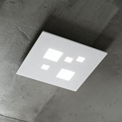 LED stropna svetilka SQUARED 6390 - Stropna svetila Alpcom