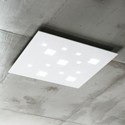 LED stropna svetilka SQUARED 6394 - Stropna svetila Alpcom