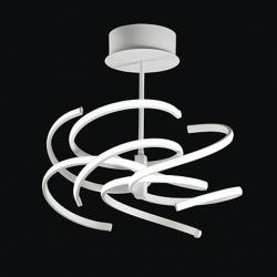 LED stropna svetilka NEST 6398 B - Stropna svetila Alpcom