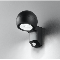 LED senzorska zidna svetilka 6318 A - Zunanja svetila Alpcom