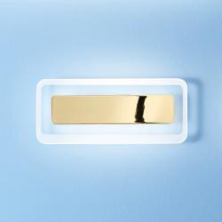 LED zidna svetilka ANTILLE  S / P G - LED svetila Alpcom