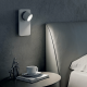 LED zidna svetilka Beebo W B switch - LED svetila Alpcom