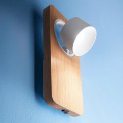 LED zidna svetilka Beebo W W switch - LED svetila Alpcom