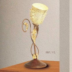 Rustikalna namizna svetilka 1865 / 1L - Alpcom svetila