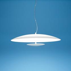 LED viseča svetilka Horizon P / WH - LED svetila Alpcom