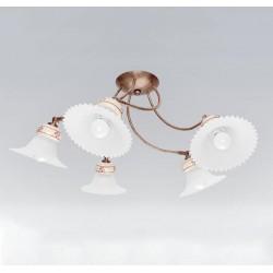 Rustikalna stropna svetilka MAMI S5 - Rustikalna svetila Alpcom