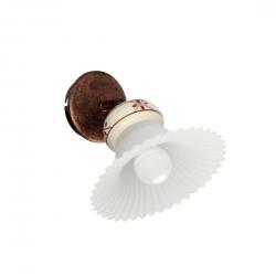 Rustikalna zidna svetilka MAMI W1 flex - Rustikalna svetila Alpcom