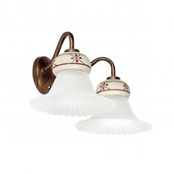 Rustikalna zidna svetilka MAMI W2 - Rustikalna svetila Alpcom