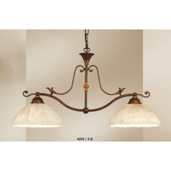 Rustikalna viseča svetilka 4255 / 2B - Rustikalna svetila Alpcom