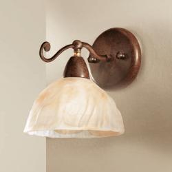 Rustikalna zidna svetilka 4255 / 1A - Rustikalna svetila Alpcom