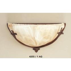 Rustikalna zidna svetilka 4255 / 1 AG - Rustikalna svetila Alpcom