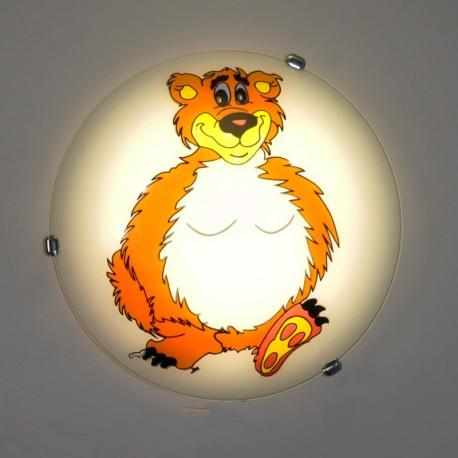 Otroška Plafonjera Medo 052 M - Otroška svetila Alpcom