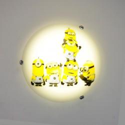 Otroška Plafonjera Minioni 052 P - Otroška svetila Alpcom